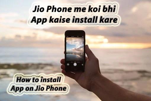 Download App on Jio Phone